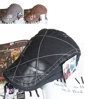 Men Peaked Cap Casual Casquette Hat Cotton Bone For Male Adjustable Duckbill Cap  S352