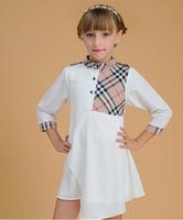 Retails. New 2014 Brand Striped Brief Dress Kids Sundress Summer 2-6Y