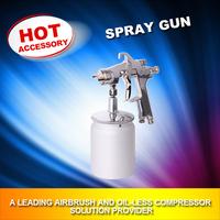 high performance Spray Gun Sprayer Air Brush Alloy Painting Paint Tool W-200S