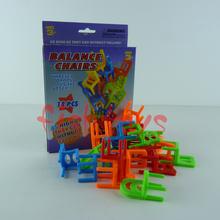 Trasporto libero gioco da tavolo bambini giocattolo educativo bilanciamento del gioco del giocattolo di puzzle di bilanciamento del sedie giocattolo  (China (Mainland))
