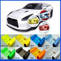 Free Shipping 12 Colors 30cmx100cm Auto Car Light Headlight Taillight Tint Vinyl Film Sticker 2014 New Hot Light change membrane