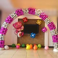 4 petals  aluminum balloon to build column arch, four leaf clover decoration aluminum foil balloon 50pcs a lot free shipping
