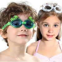 2014 New Summer Branded Cartoon Kids Goggles Boy And Girl Swimming Goggles Anti-Fog Silicone UV Protection Children Swim Eyewear