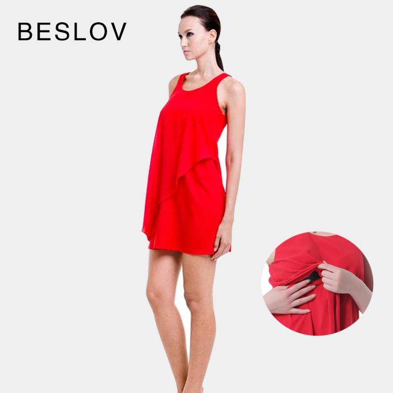 Rosso rayon/spandex maternità abito estivo abiti sexy maternità gravidanza vestiti abito casual