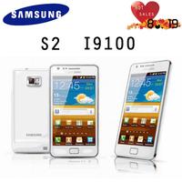 Original Refurbished samsung GALAXY SII S2 I9100 mobile phone Android korea version Wi-Fi,GPS,8MP4.3'' black/white free shipping