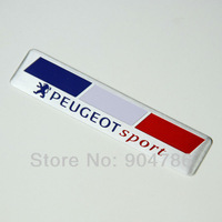 2014 free shipping new design 3D metal aluminium alloy car stickers car decals England Germany