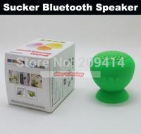 Wholesale Free Shipping Sucker Mushroom Wireless Speakers Bluetooth Speaker Memory Card Speaker Portable Speaker 100PCS/lot