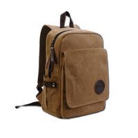 Canvas Casual satchel School bag Backpack Tote Campus Bookbag laptop Case