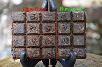 Free shipping 120g original yunnan ripe and raw puer tea, pu er brick tea