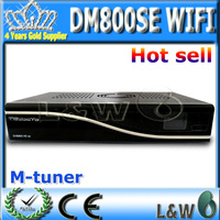 free shipping dm 800 hd se 300m wifi sunray 800se satellite tv receiver digital hd decoder dvb s2 alps M tuner sim 210