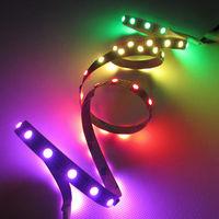 1M 60 LEDs Pixels WS2812B WS2811 WS2812 5050 RGB LED Flexible Strip DC5V Light