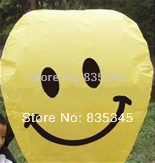 20 Pcs Wishing Lamp Chinese Sky lantern / Hot air balloon / Fly To The Sky / Oval Fuel Outdoor Party Balloon(China (Mainland))
