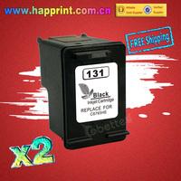 C8765HE inkjet printer ink cartridge for HP 131 hp131 Deskjet 460s 5740s 6520 6540 6620 6830 Photosmart 2570 2573 2600 2700(2PK)