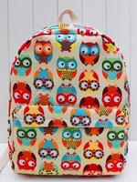 Free Shipping High Quality Canvas Backpack Women Fashion Outdoor Hiking Knapsack Children Cute Cartoon Designer School Rucksack