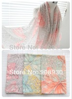 Hot Sale Butterfly Scarf shawl Nice Printed Hijab Dreamed and Ffantastic colors Design Wholesale Scarves Free shipping
