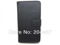 for Sony Xperia E1 Lichee Leather Wallet Case Free shipping