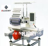 Single Head Cap/T-shirt/Flat/Garment/Tubular  Computer Embroidery Machine