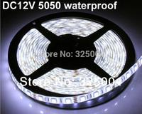 DHL/Fedex  shipping 10 Rolls 5m/roll 300led IP65 waterproof RGB/single color led strip 5050 DC12V