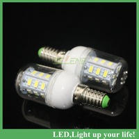 2PCS E14 Lamp  E14 5730 24LEDs Corn Bulbs or Lamps 5730 SMD 7W Warm White/White Home Lighting reading lights for beds AC220-240V
