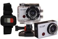 Free shipping 2014 New Wi-Fi 30M Waterproof HD 1920x1080P Diving Sports Camera Mini Action Helmet Camera