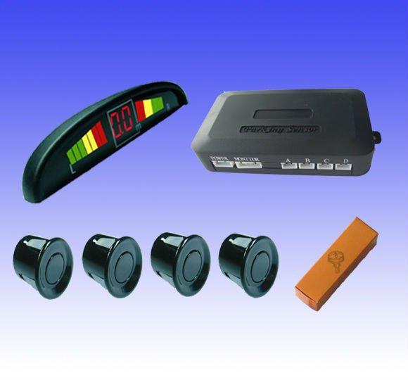 Автомобиль из светодиодов парковки датчик монитор автоматический обратное резервного копирования антирадар система + светодиодный дисплей + 4 датчики 6 цветов на выбор