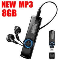 2014 latest -NWZ-172 8gb mp3 players FM-radio Digital Screen MP3 Music Player 2/4G/8GB Pen USB Flash Drive Free Shipping