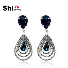 popular earrings blue