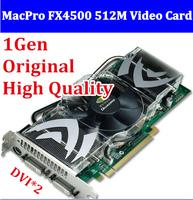 Original NVIDIA Quadro Mac pro FX4500 PCIe 512MB video card For MacPro 2006-07 CAD/3D graphics 1 year warranty