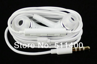 Wholesale 50pcs/lot Remote Volume Control Handfree in-ear Earphone headset  For Samsung Galaxy S3 S4 Note 2 Note 3