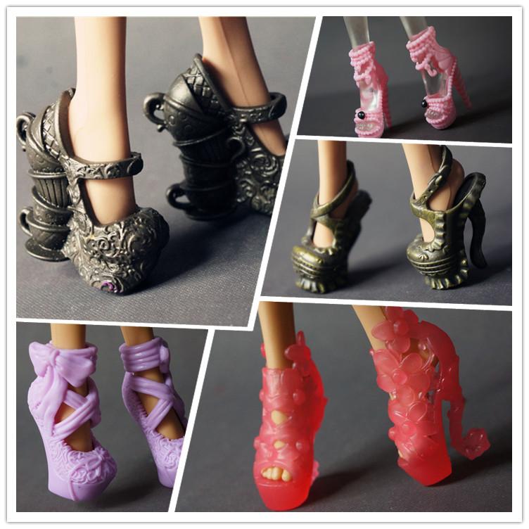 Как сделать обувь для куклы монстер хай мастер класс