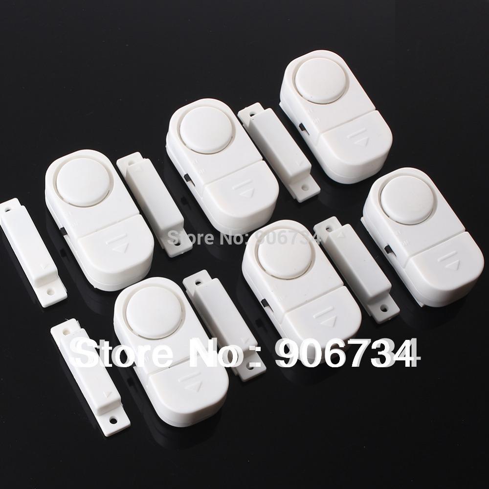 6 Wireless Home Window Door Entry Burglar Security Alarm System Magnetic Sensor(China (Mainland))