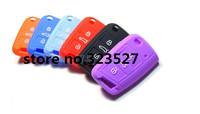 100pcs/lot  high quality key holder For vw golf 7 car key cases Smart Key Cover Case Holde For vw volkswagen golf 7 blue