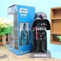 Retail 1 Piece FUNKO Wacky Wobbler Bobble Head Star Wars Darth Vader PVC Action Figure Collectible Doll