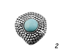 Hot Wholesale Mix Styles Cheap Rings,High Quality Silver Plated Turquoise Rings Vintage Jewelry For Women Free Shipping