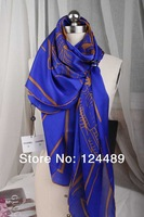 2014 Masters wealthy silk satin large square silk scarves shawls