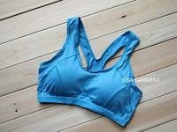 Large Size Bra Vest Design Running Yoga Wireless Running Sport Bra Candy Color Sports Bra Underwear Running Vest Women Underwear