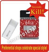 Free shipping 64GB 32GB USB 2.0 Flash Memory Pen Drive Stick Drives 100% new Sticks Pen drives U Disk