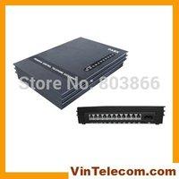 PBX manufacturer VinTelecom MS308 phone PABX w / fax detection & follow me / support doorphone and doorlock-NEW-free shipping