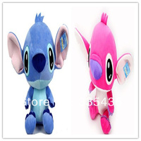 NEW ARRIVAL 2014,20 cm Lilo & Stitch Doll Stuffed&Plush,wholesale wedding doll.2 pcs per set.NEW for Children gift