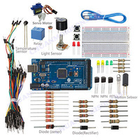 New SunFounder Lab Mega 2560 Project Starter Kit For Arduino UNO R3 Nano