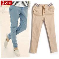 clearance sale NEW womens trousers cotton woman pants straight pencil cargo leopard pants plus size  casual Hallen trousers