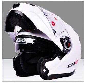LS2 capacete ls2 ff386 Motorcycle helmet flip up helmet cascos motos capacetes da motocicleta modular double visor lens XL XXL(China (Mainland))