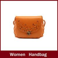 2014Hot!Vintage Preppy Style Leather Women's Handbag High Quality Fashion Bag Totes Shoulder Stamp Messenger Bags Free Shipping