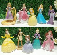 Free shipping 10pcs Princess Cinderella cute Cartoon Figure Doll NEW Retail