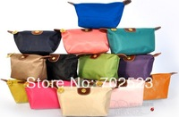 Wholesale - 10 pcs middle Size Hot New Women senior waterproof nylon candy Lady's cosmetic organizer bag