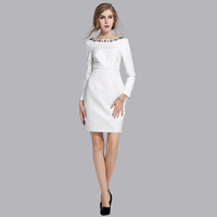 S ~XXXXL Plus Size 2014 Spring New Fashion Women V-Neck  Ankle-Length  Popular Ladies' Casual Dresses,2 color 2 style QC 1824