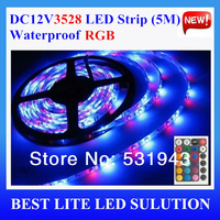Free Shipping RGB low voltage 12v3528led  60 lamp meters