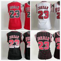 Chicago 23 Michael Jordan Women Basketball Jersey Women Embroidery Basketball Jersey Michael Jordans Mujeres Camisetas Wholesale
