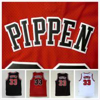 Chicago 33 Scottie Pippen Basketball Jersey Cheap Throwback Basketball Jersey Scottie Pippen New Rev 30 Embroidery Logo Jerseys