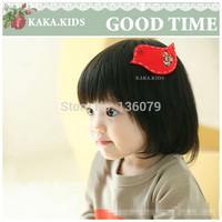 10pcs/lot Red Plane decals birds Children hair accessories /hairpin